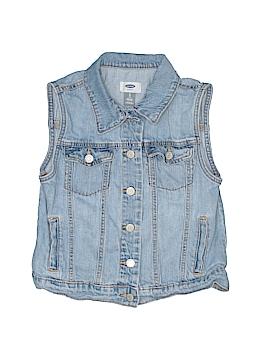 Old Navy Denim Vest Size X-Large (Kids)