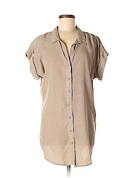 Thread & Supply Short Sleeve Blouse Size M