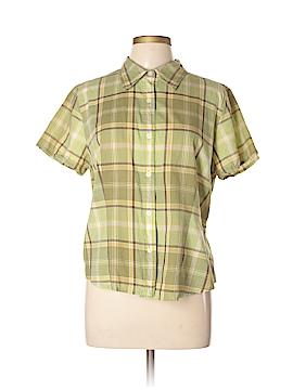 Villager Short Sleeve Button-Down Shirt Size 16
