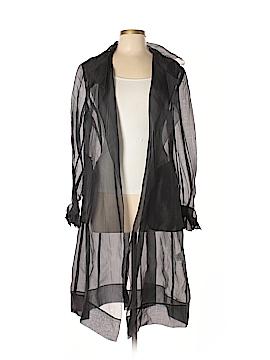DKNY Long Sleeve Silk Top Size L