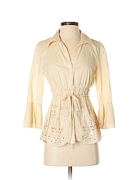 Bandolino 3/4 Sleeve Button-Down Shirt Size 4
