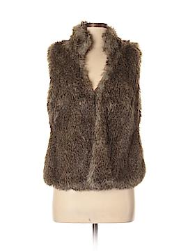 MICHAEL Michael Kors Faux Fur Vest Size M