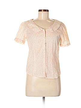 Tramp Short Sleeve Button-Down Shirt Size M