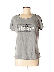 Mango Women Short Sleeve T-Shirt Size M