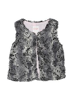 Cat & Jack Faux Fur Vest Size 7 - 8