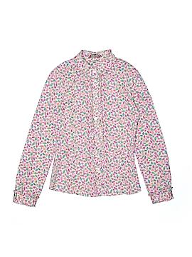 E. Land Long Sleeve Button-Down Shirt Size 12
