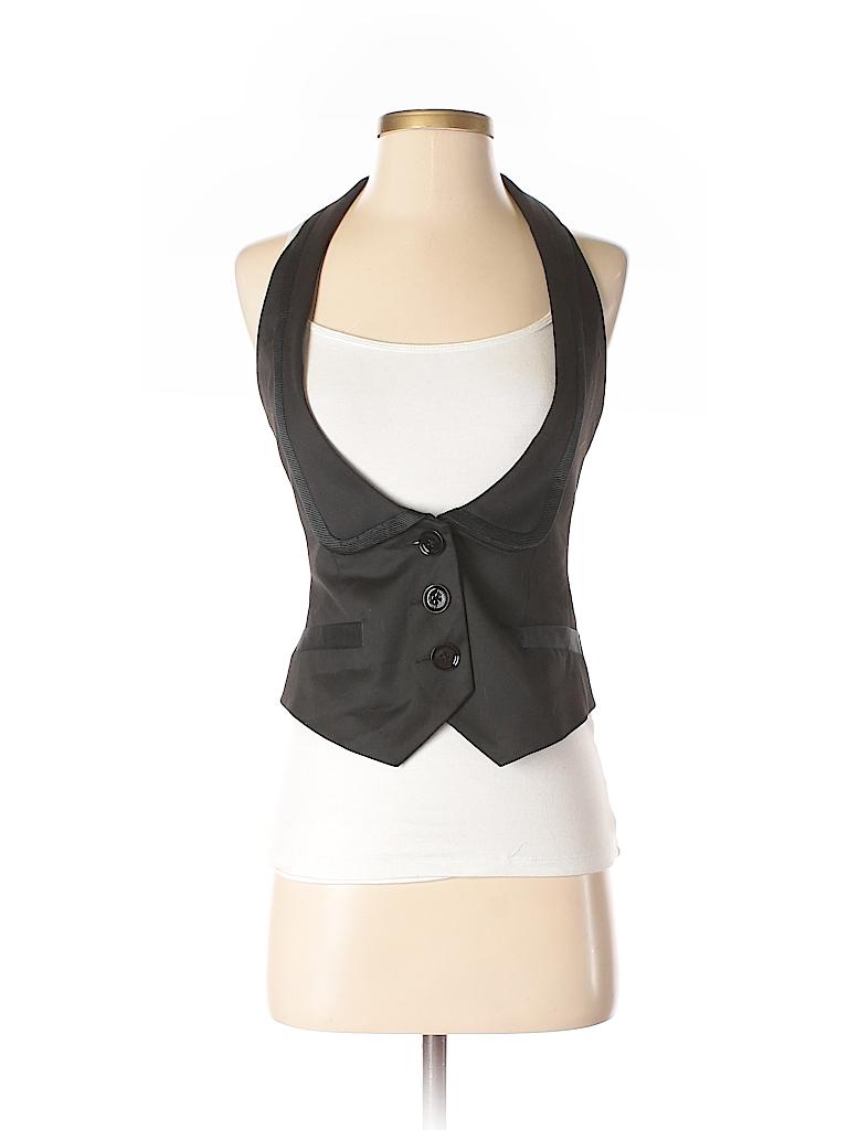 Express Design Studio Women Tuxedo Vest Size 0