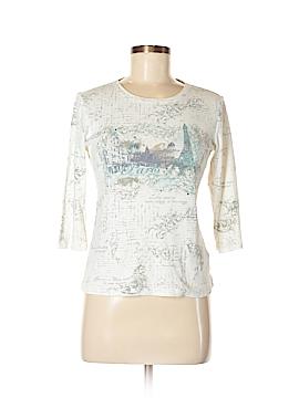 Nicole Miller 3/4 Sleeve T-Shirt Size S