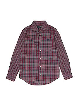 Lauren by Ralph Lauren Long Sleeve Button-Down Shirt Size 10