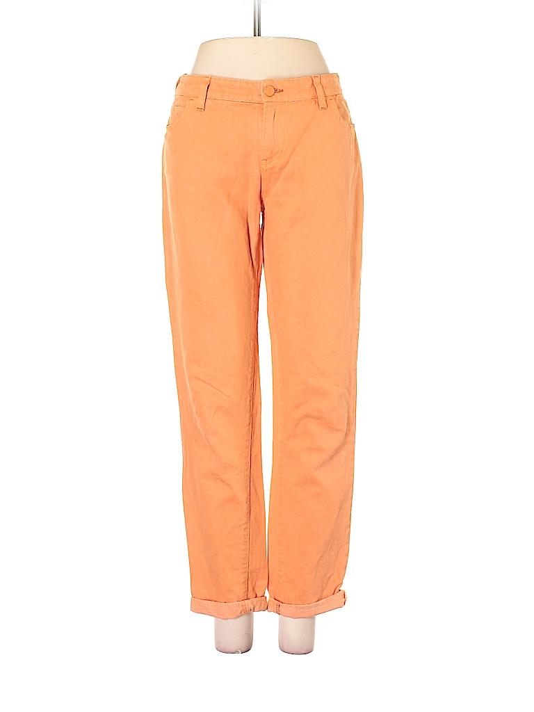Pilcro and The Letterpress Women Linen Pants 28 Waist