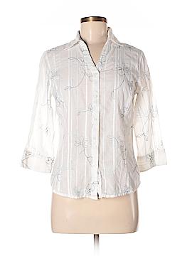 A.L.C. 3/4 Sleeve Button-Down Shirt Size S