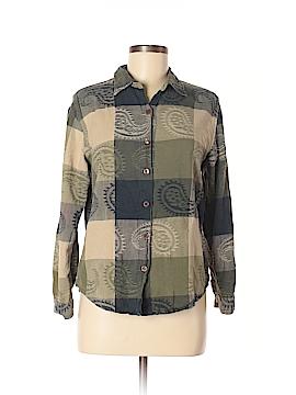 DressBarn Long Sleeve Button-Down Shirt Size M
