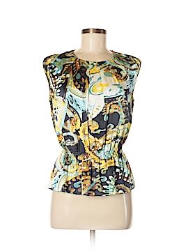 Eccoci Short Sleeve Silk Top Size 4