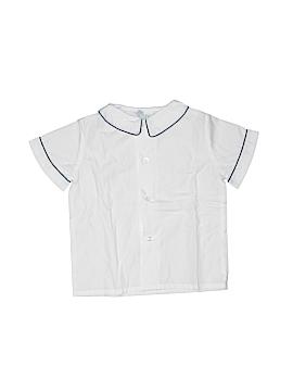 The Plantation Shop Short Sleeve Button-Down Shirt Size 3