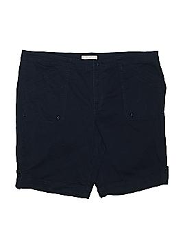 Gloria Vanderbilt Khaki Shorts Size 20 (Plus)