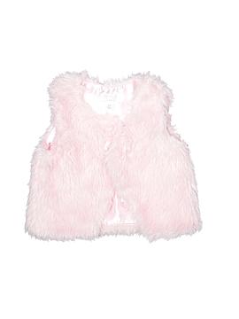 The Children's Place Faux Fur Vest Size 3T