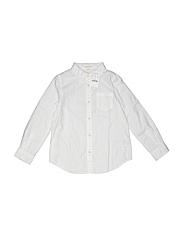 Crewcuts Girls Long Sleeve Button-Down Shirt Size 6