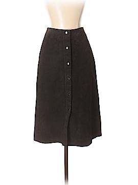 Banana Republic Leather Skirt Size 2