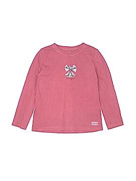 Life Is Good Long Sleeve T-Shirt Size M (Kids)