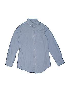 Class Club Long Sleeve Button-Down Shirt Size 10