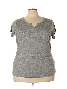 Derek Heart Short Sleeve T-Shirt Size 3X (Plus)