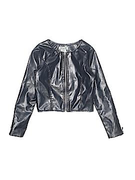 Eliza B. Faux Leather Jacket Size 7
