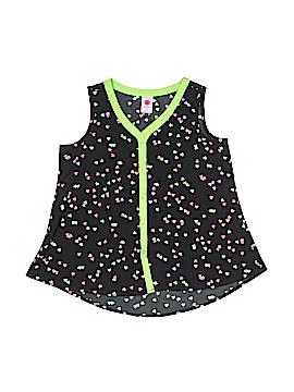 Total Girl Sleeveless Blouse Size 7 - 8