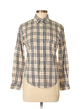 Burberry Long Sleeve Button-Down Shirt Size M