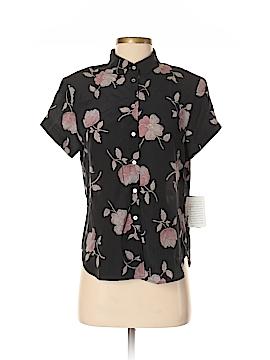 Rena Rowan Short Sleeve Silk Top Size 6