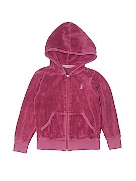 Juicy Couture Zip Up Hoodie Size 4T