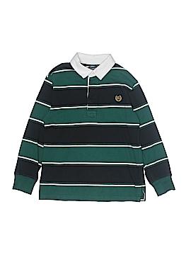 Chaps Long Sleeve Polo Size L (Infants)