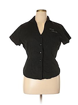 Harley Davidson Short Sleeve Button-Down Shirt Size XL