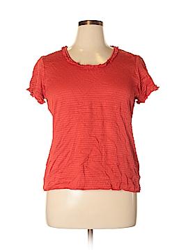 Hampshire Studio Short Sleeve Top Size XL
