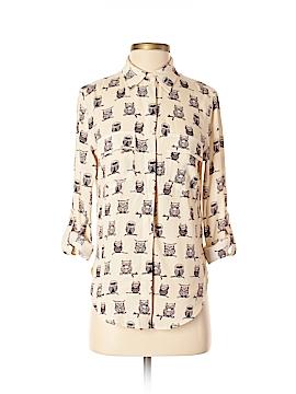 Porridge Long Sleeve Button-Down Shirt Size XS