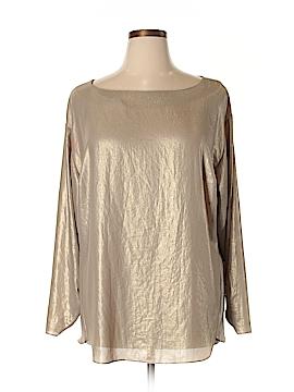 Anne Klein Long Sleeve Blouse Size 1X (Plus)