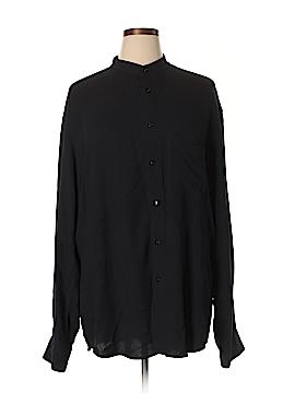 Donna Karan New York Long Sleeve Blouse Size XL