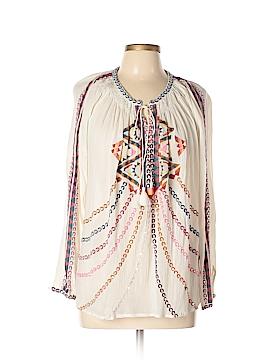 Antik Batik Long Sleeve Blouse Size M