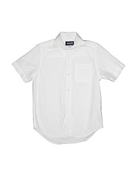 The Children's Place Short Sleeve Button-Down Shirt Size 8