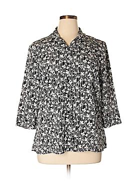 Covington 3/4 Sleeve Blouse Size 18 (Plus)