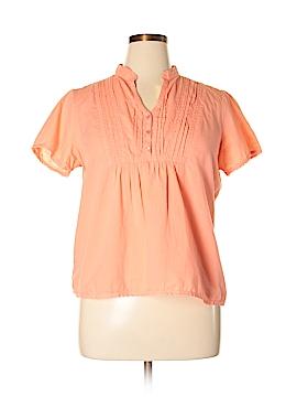 Caribbean Joe Short Sleeve Button-Down Shirt Size XL