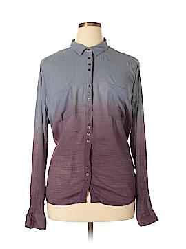 Rock & Republic Long Sleeve Button-Down Shirt Size XL