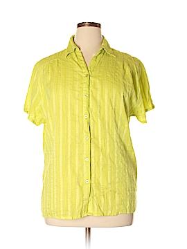 UNITI Short Sleeve Button-Down Shirt Size 3X (Plus)