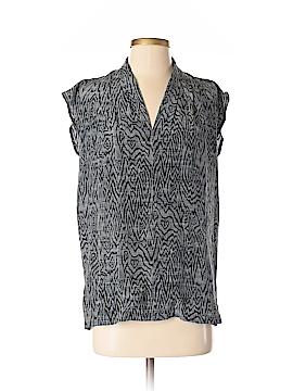 The Podolls Short Sleeve Silk Top Size S