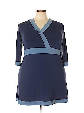 Dialogue Casual Dress Size 1X (Plus)