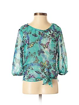 Belle du Tour Girls 3/4 Sleeve Blouse Size S
