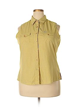 Rockies Sleeveless Button-Down Shirt Size XXL