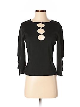 Céline 3/4 Sleeve Silk Top Size M