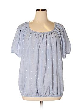 Grand & greene Short Sleeve Blouse Size 1X (Plus)