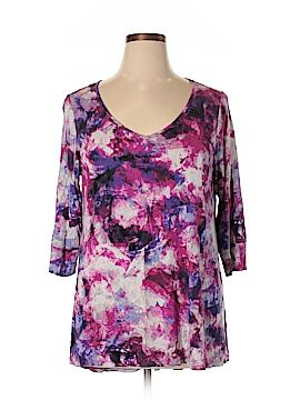 Cynthia Rowley for T.J. Maxx 3/4 Sleeve T-Shirt Size 1X (Plus)