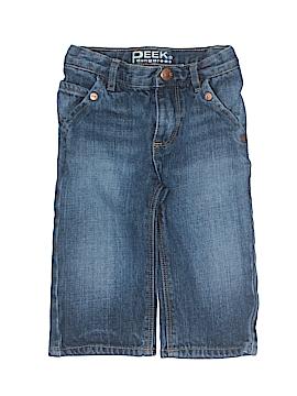 Peek Dungarees Jeans Size 12-18 mo